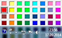 изменить цвет панели задач в windows 7
