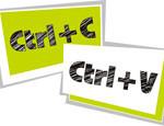 Как копировать текст с помощью клавиатуры и вставить