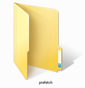 папка prefetch - миниатюра