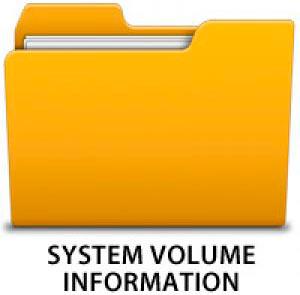 папка system volume information - миниатюра