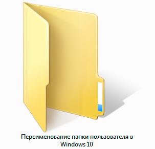 папка user в windows 10 - миниатюра